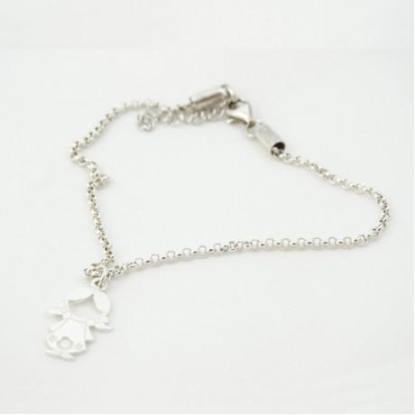 Sterling silver bracelet GirlBliss, Bijuterii de argint lucrate manual, handmade