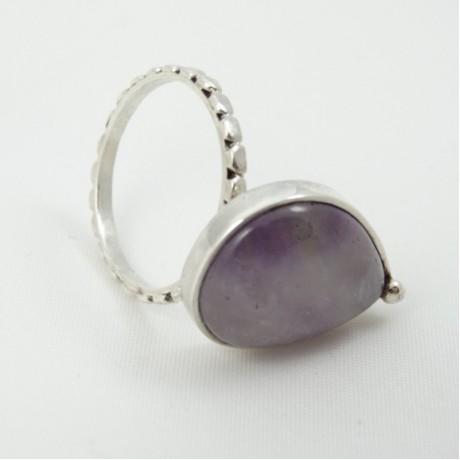Sterling silver ring LoveWork, Bijuterii de argint lucrate manual, handmade