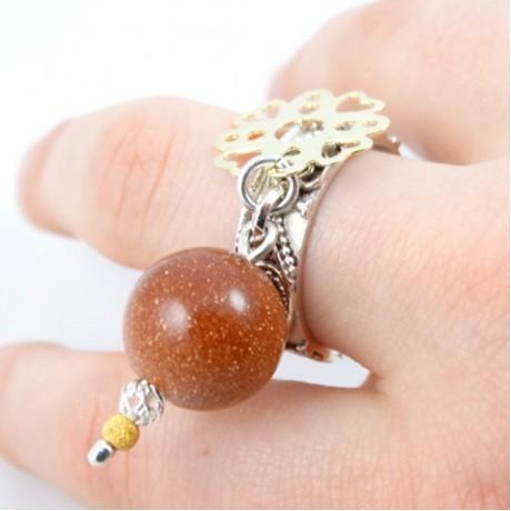 Sterling silver ring Quelque chose du merveille, Bijuterii de argint lucrate manual, handmade