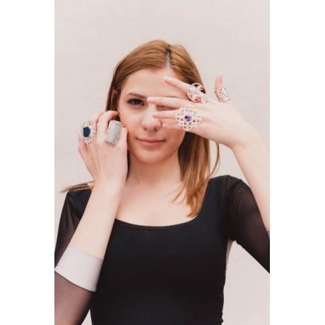 Sliver ring, Bijuterii de argint lucrate manual, handmade