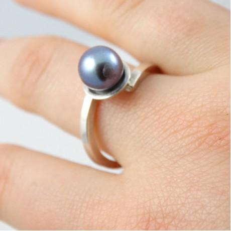 Sterling silver engagement ring Love Haven, Bijuterii de argint lucrate manual, handmade