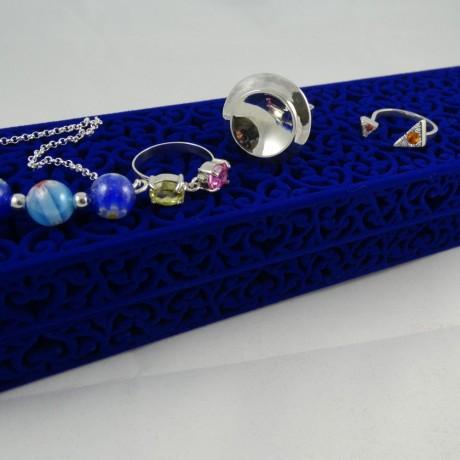 Sterling silver engagement ring Bare-Hearted, Bijuterii de argint lucrate manual, handmade