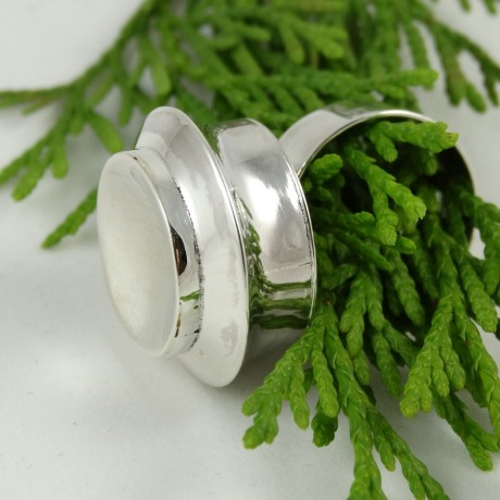 Sterling silver ring Love Couture, Bijuterii de argint lucrate manual, handmade