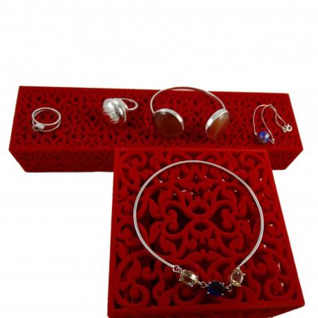 Sterling silver bracelet Missy, Bijuterii de argint lucrate manual, handmade