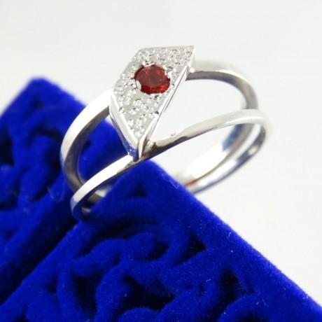 Inel logodna Hot-Blooded Love, Bijuterii de argint lucrate manual, handmade