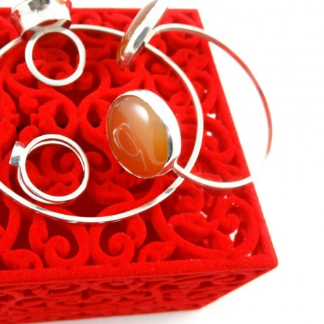 Sterling silver bracelet Love Boutique, Bijuterii de argint lucrate manual, handmade