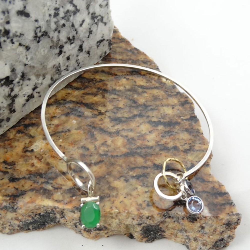 Sterling silver bracelet Softie