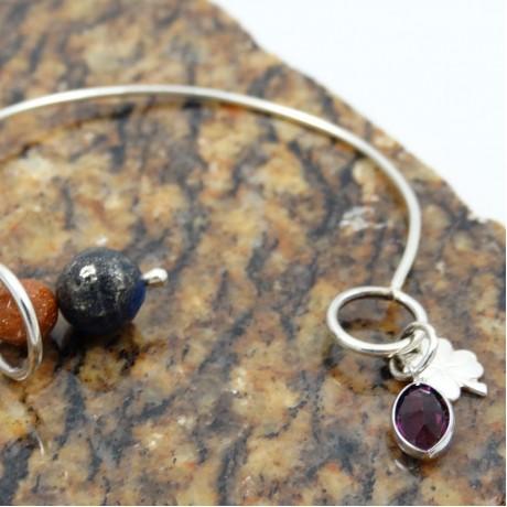 Sterling silver bracelet Urban, Bijuterii de argint lucrate manual, handmade