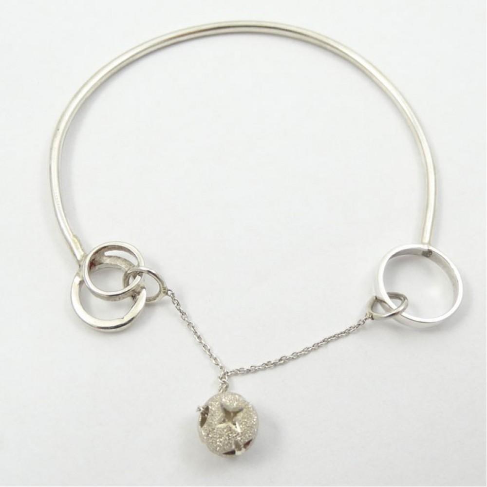 Sterling silver bracelet LoveRub