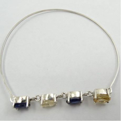 Sterling silver bracelet Rows of Glaze, Bijuterii de argint lucrate manual, handmade