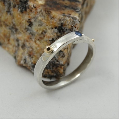 Sterling silver engagement ring Love Infusion, Bijuterii de argint lucrate manual, handmade