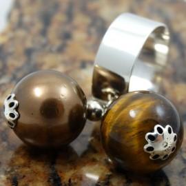 Sterling silver ring Love Sensors