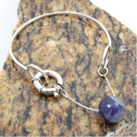Sterling silver bracelet Lush Pursuits, Bijuterii de argint lucrate manual, handmade