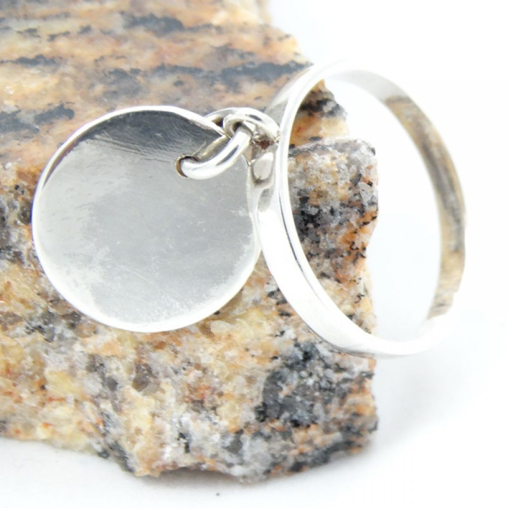 Sterling silver ring Quick Savour