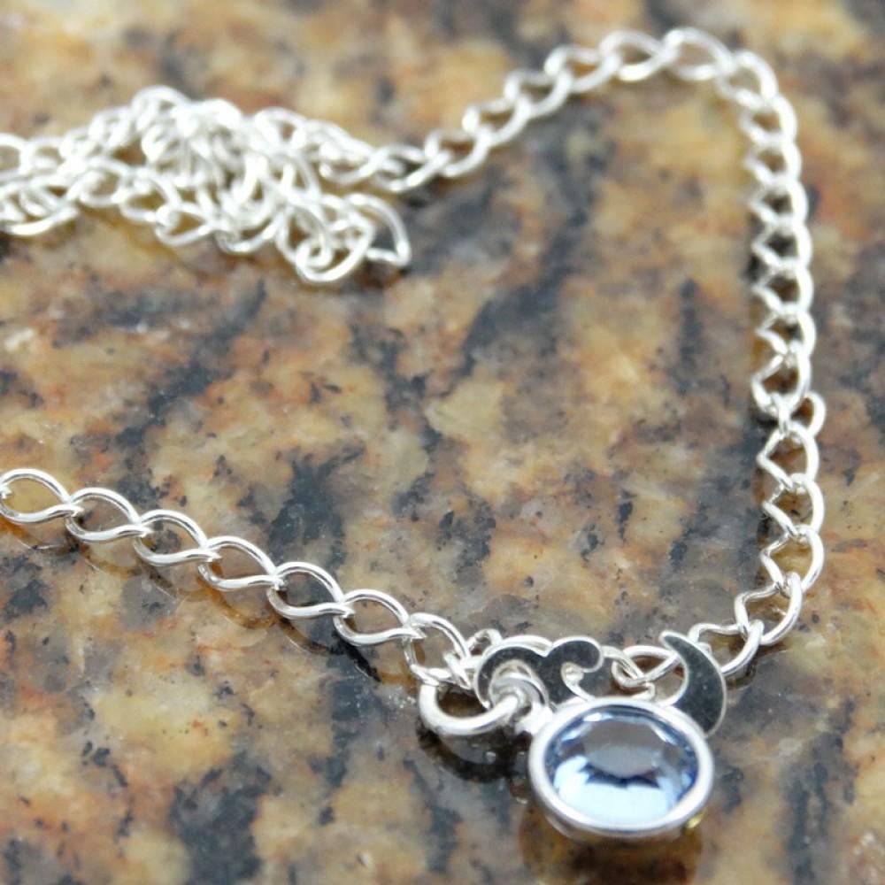 Sterling silver bracelet Dive