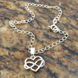 Sterling silver bracelet Love Fuel