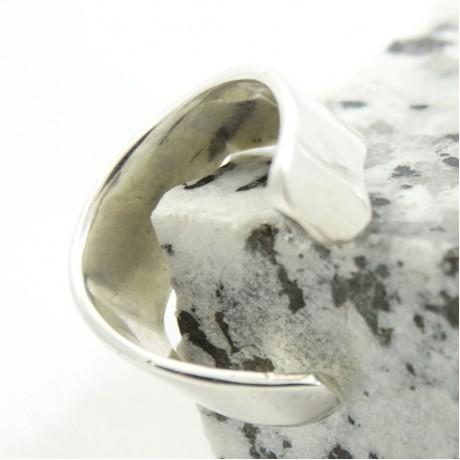 Sterling silver ring Summer Ease, Bijuterii de argint lucrate manual, handmade
