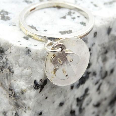 Sterling silver ring Glow Appeal, Bijuterii de argint lucrate manual, handmade