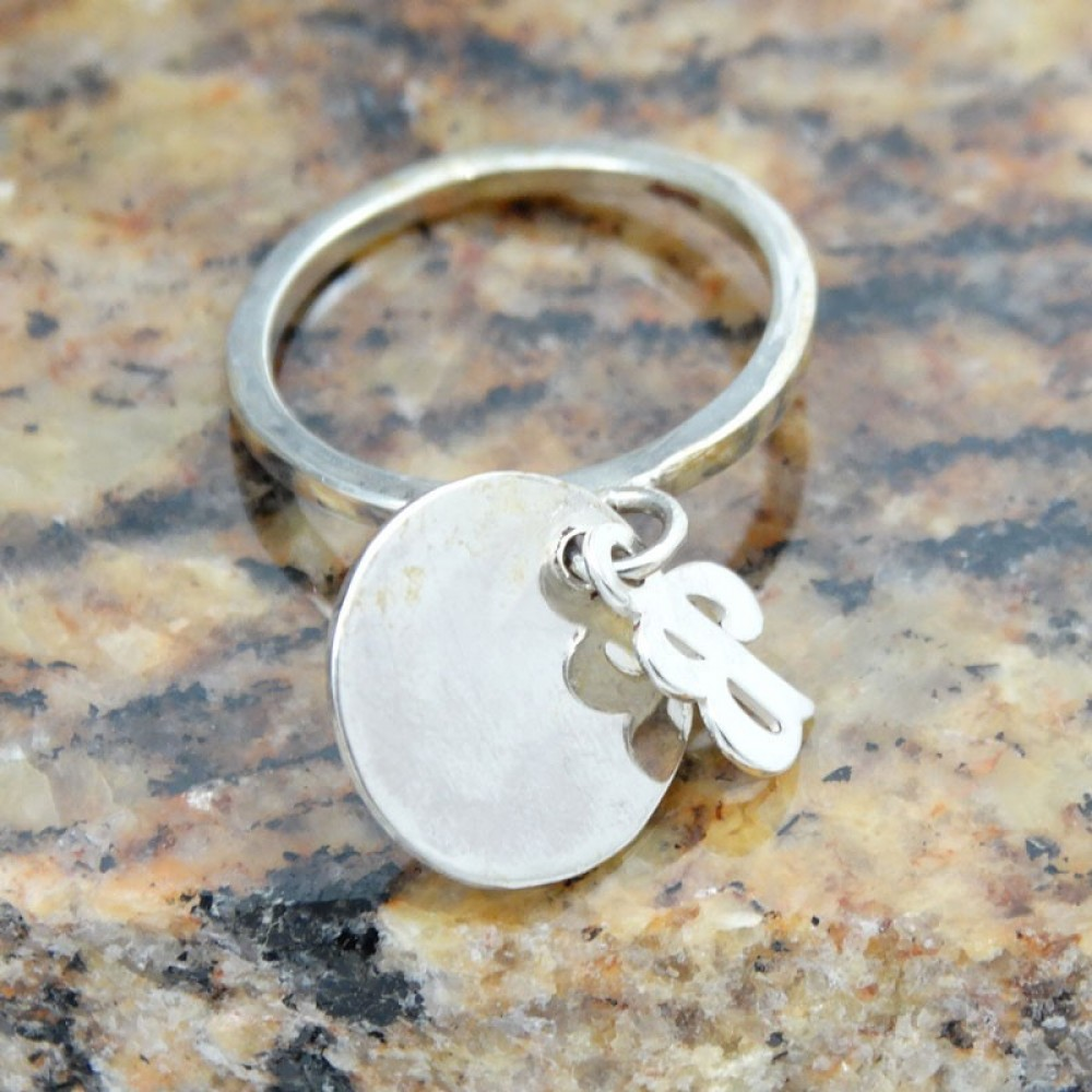 Sterling silver ring Glow Appeal