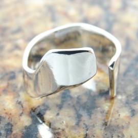 Inel masiv Cleave, Bijuterii de argint lucrate manual, handmade
