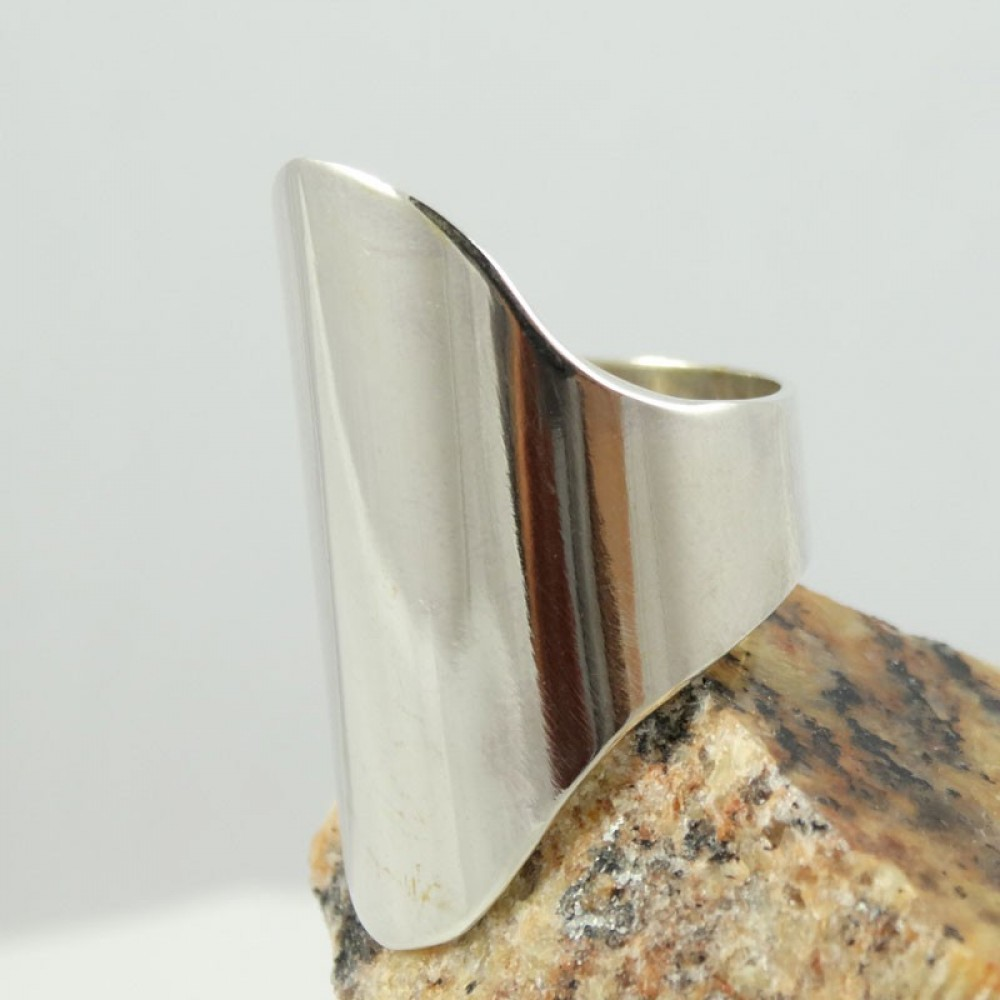 Sterling silver ring Connivance