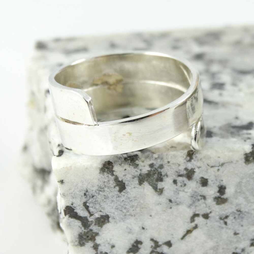 Sterling silver ring Zest of Things
