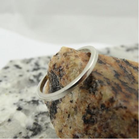 Sterling silver ring Flush, Bijuterii de argint lucrate manual, handmade