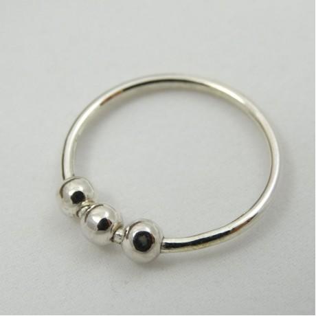 Sterling silver ring Gratitude, Bijuterii de argint lucrate manual, handmade