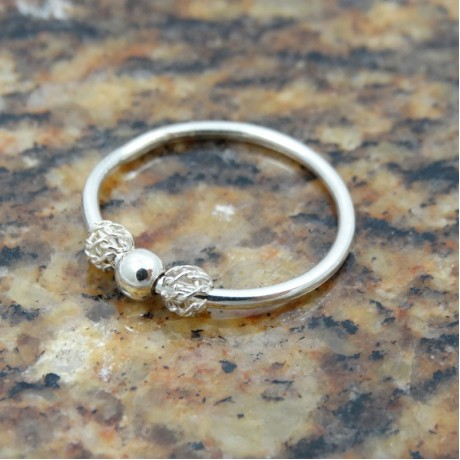 Sterling silver ring Dreamy Wraps, Bijuterii de argint lucrate manual, handmade