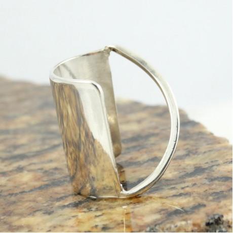 Sterling silver ring Finger Frame, Bijuterii de argint lucrate manual, handmade