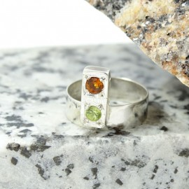 Sterling silver ring Summer Trove
