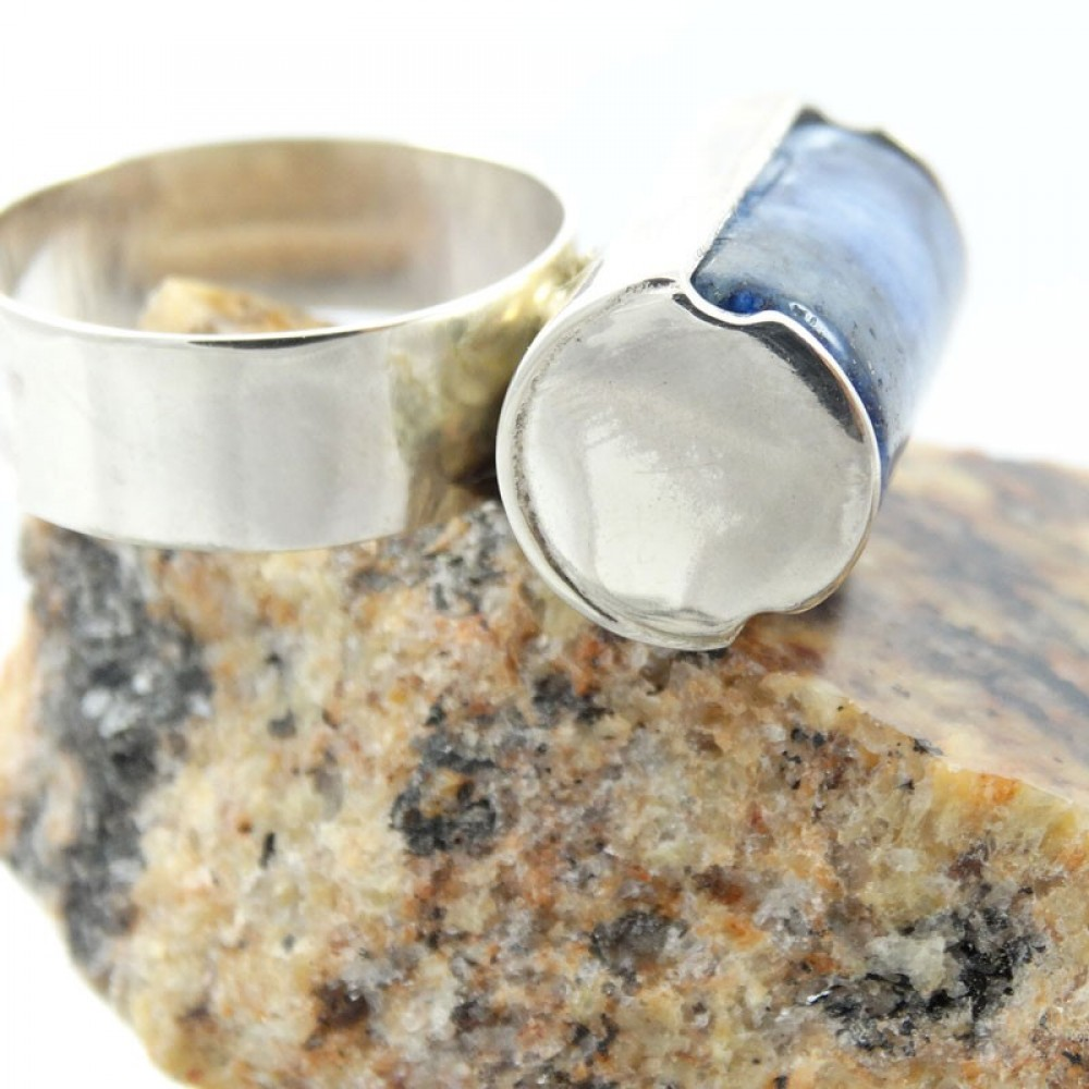 Sterling silver Stretch of Blues
