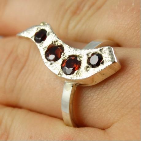 Sterling silver ring Bird of Paradise, Bijuterii de argint lucrate manual, handmade