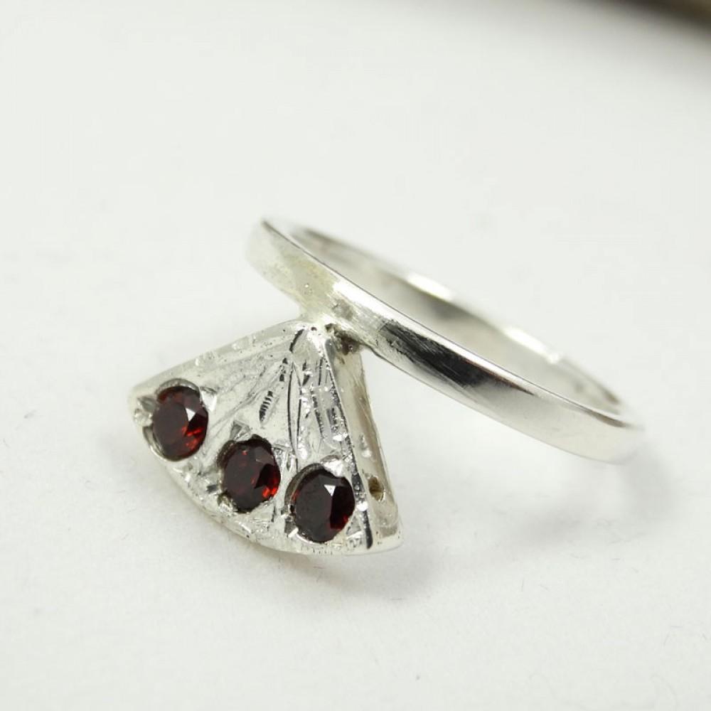 Sterling silver ring La Plus Belle
