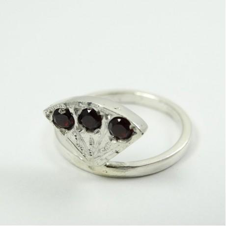 Sterling silver ring La Plus Belle, Bijuterii de argint lucrate manual, handmade