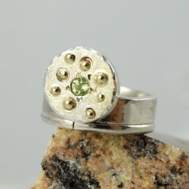 Sterling silver ring Summer Season