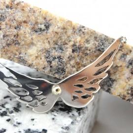 Pandantiv aripi Charisma, Bijuterii de argint lucrate manual, handmade