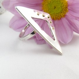 Sterling silver ring Summer Temper