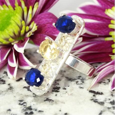 Sterling silver ring Stand Out, Bijuterii de argint lucrate manual, handmade