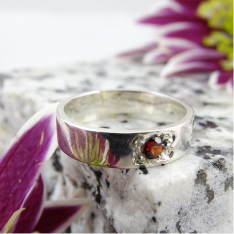 Sterling silver ring Committed, Bijuterii de argint lucrate manual, handmade