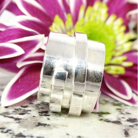 Sterling silver ring Resume, Bijuterii de argint lucrate manual, handmade