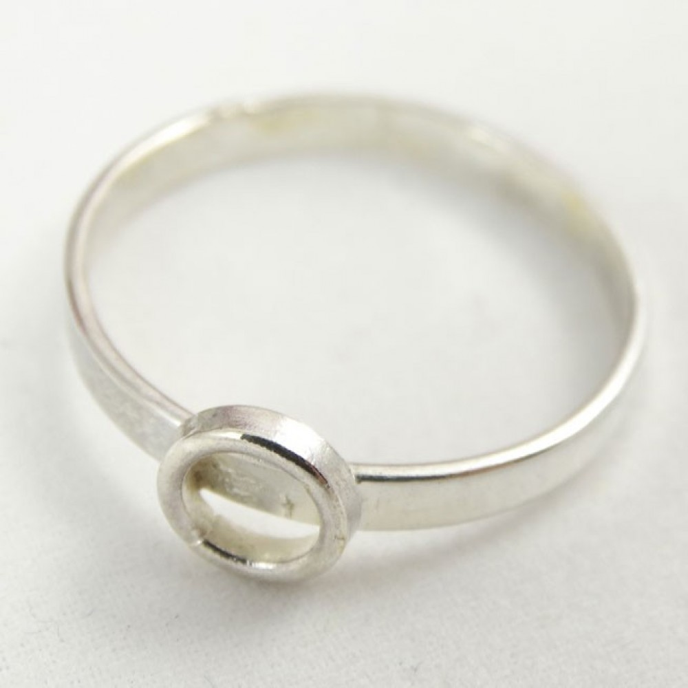 Sterling silver ring Circle