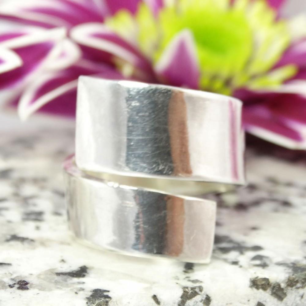 Sterling silver ring Wild Match