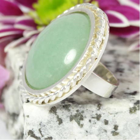 Sterling silver ring Bella Storia, Bijuterii de argint lucrate manual, handmade
