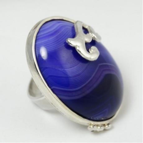 Sterling silver ring Autumn Glories, Bijuterii de argint lucrate manual, handmade