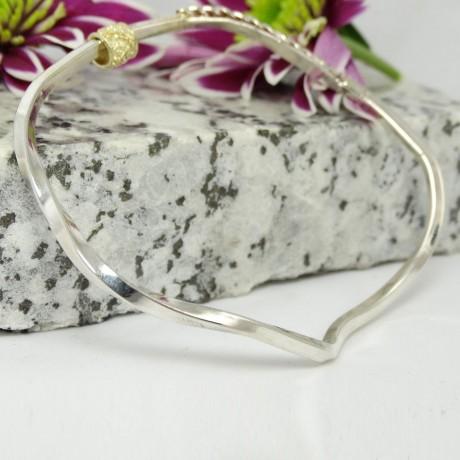 Sterling silver bracelet Enchantress, Bijuterii de argint lucrate manual, handmade