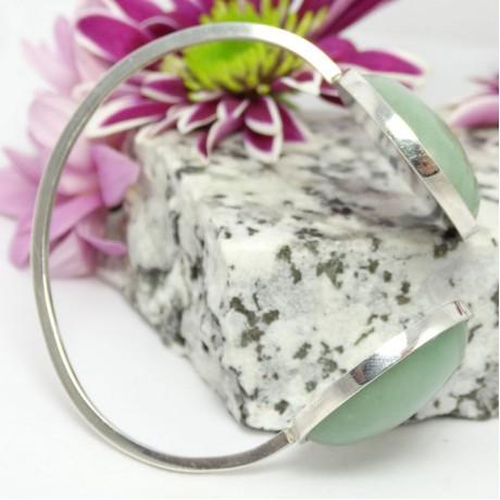 Sterling silver bracelet Lush Green Overgrowth, Bijuterii de argint lucrate manual, handmade
