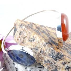 Sterling silver bracelet Qualcosa di Bellezza, Bijuterii de argint lucrate manual, handmade