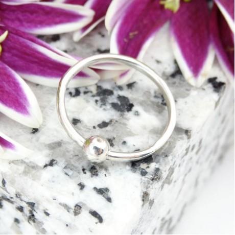 Sterling silver ring Finesse, Bijuterii de argint lucrate manual, handmade