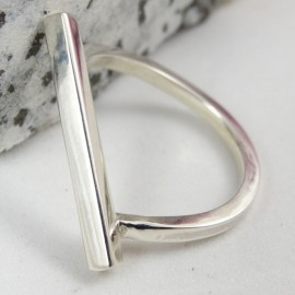 Sterling silver ring Borghese